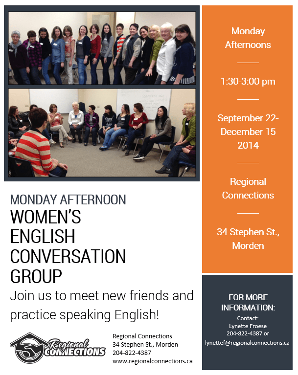 Morden Womens Convo Group - Fall 2014
