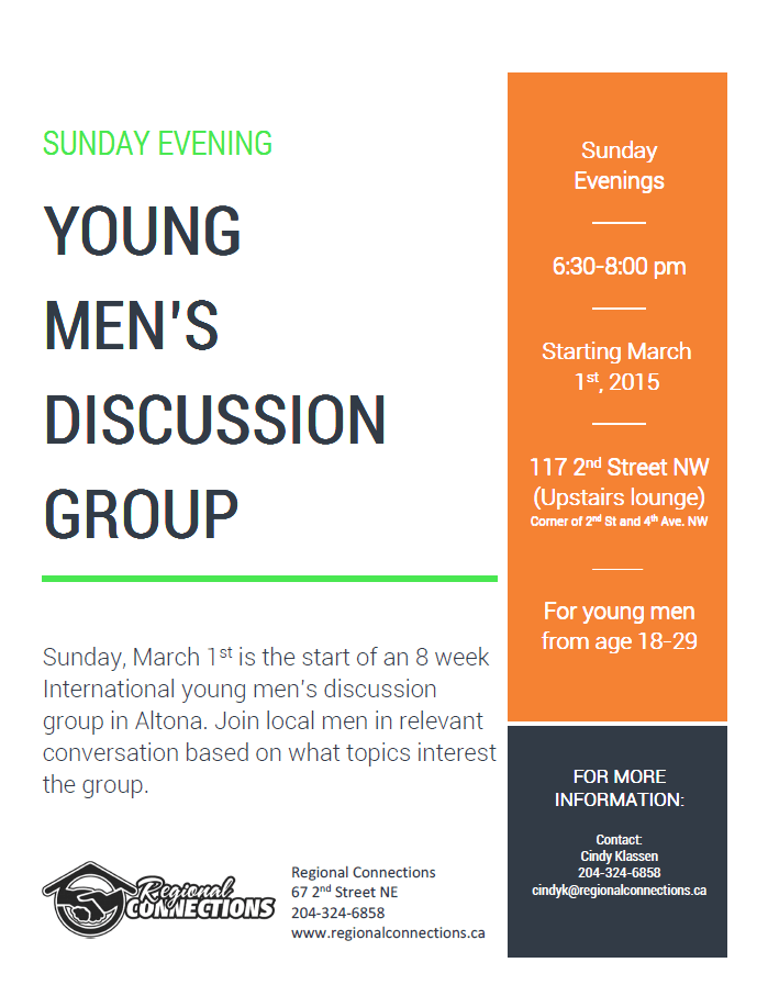 Altona - Mens Conversation Group March 2015