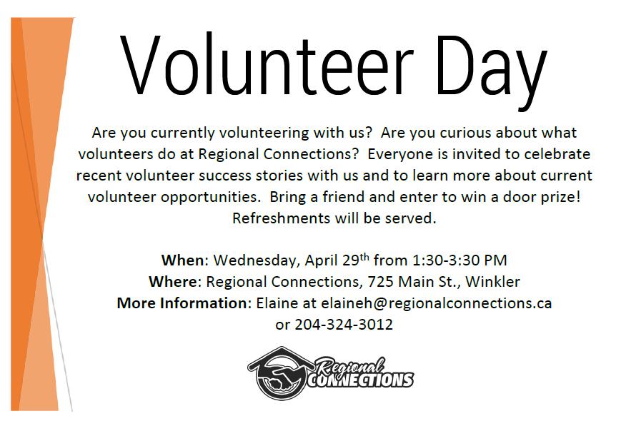 Volunteer Day - April 2015