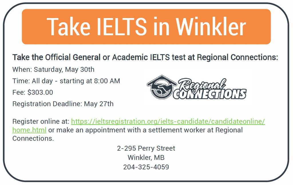 IELTS Test Day - May 31st