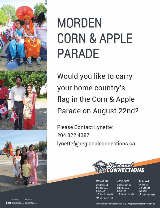 Morden Parade Sign up