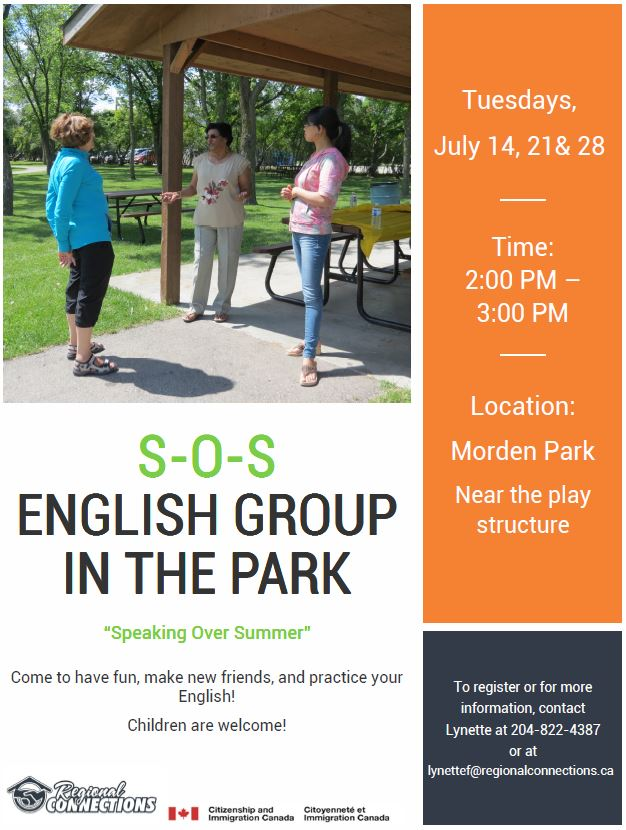 Morden SOS English Group