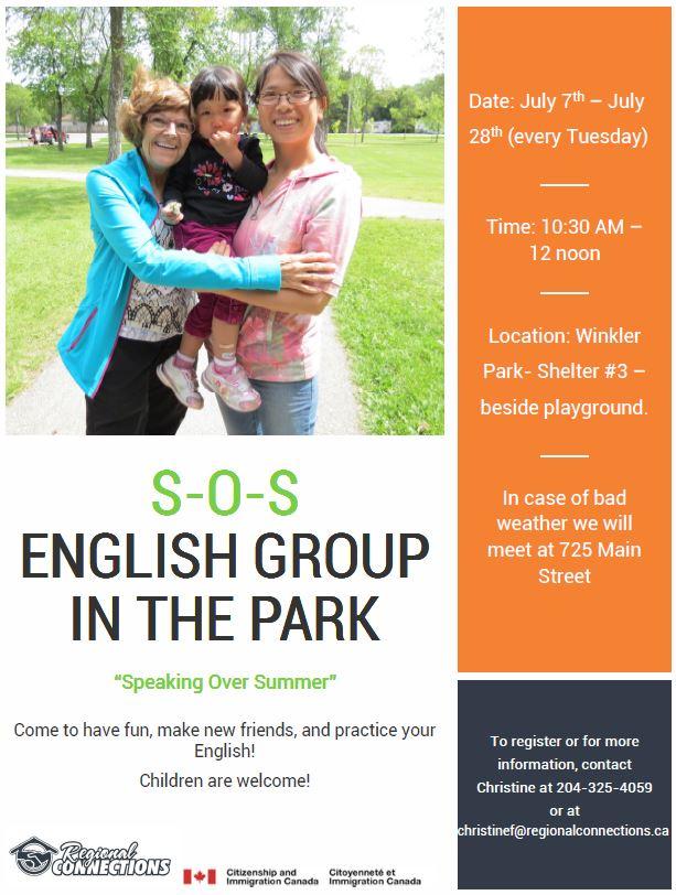 SOS English - Winkler