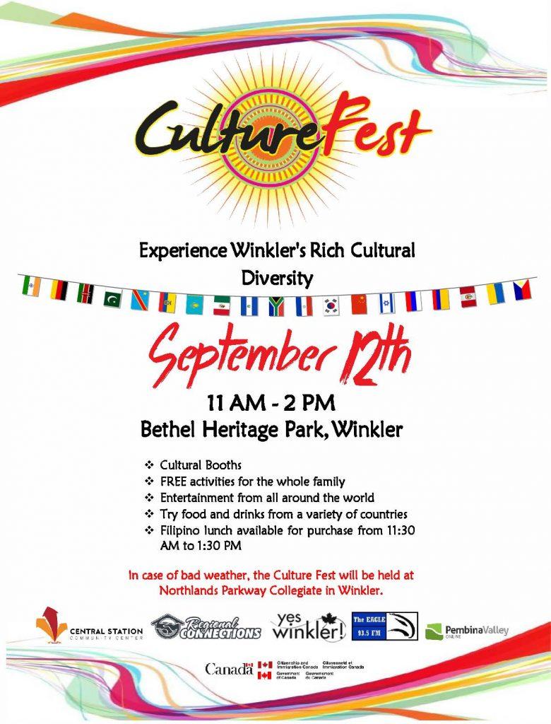CultureFest Poster