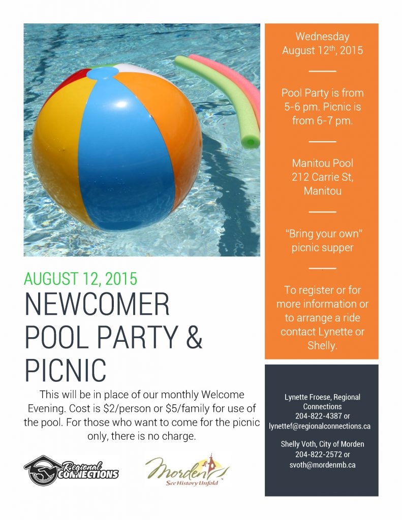Morden Pool Party and Picnic 2015