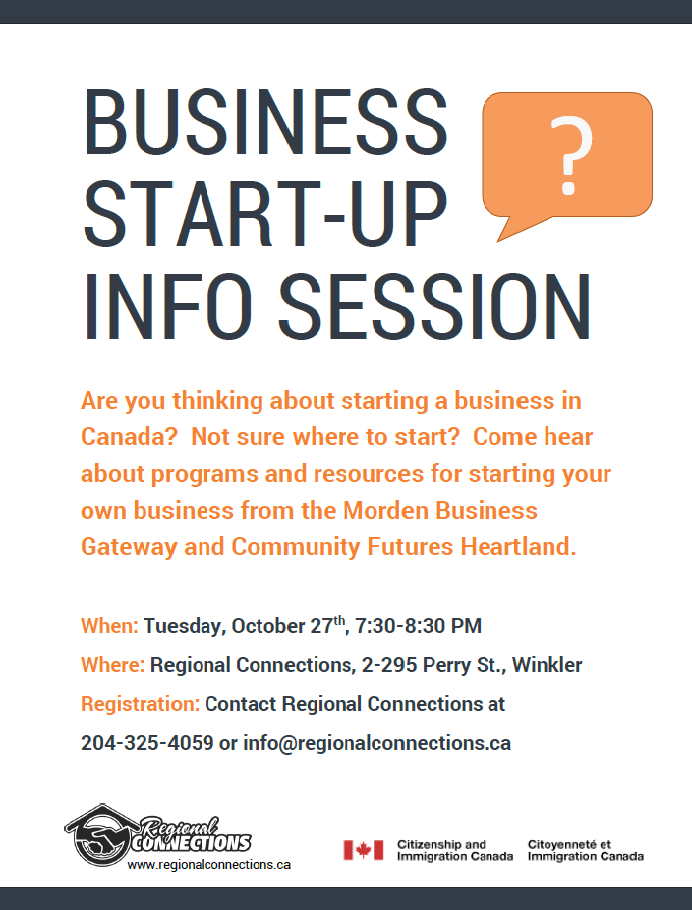 Business Start Up - Oct 2015