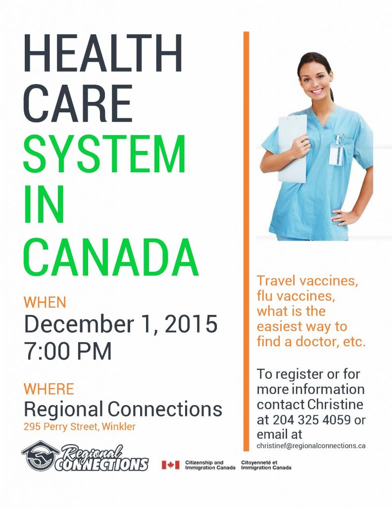Health Care Information Session 2015