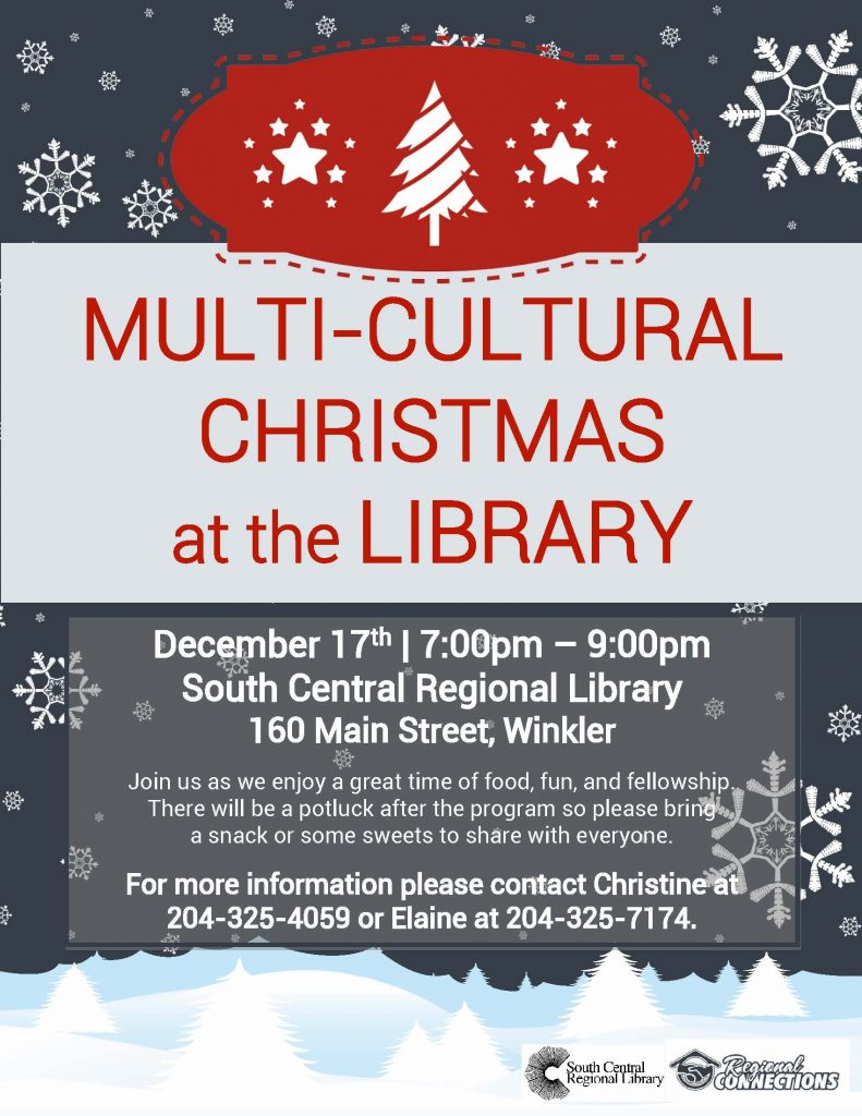 Multi-Cultural Christmas at the Library - 2015