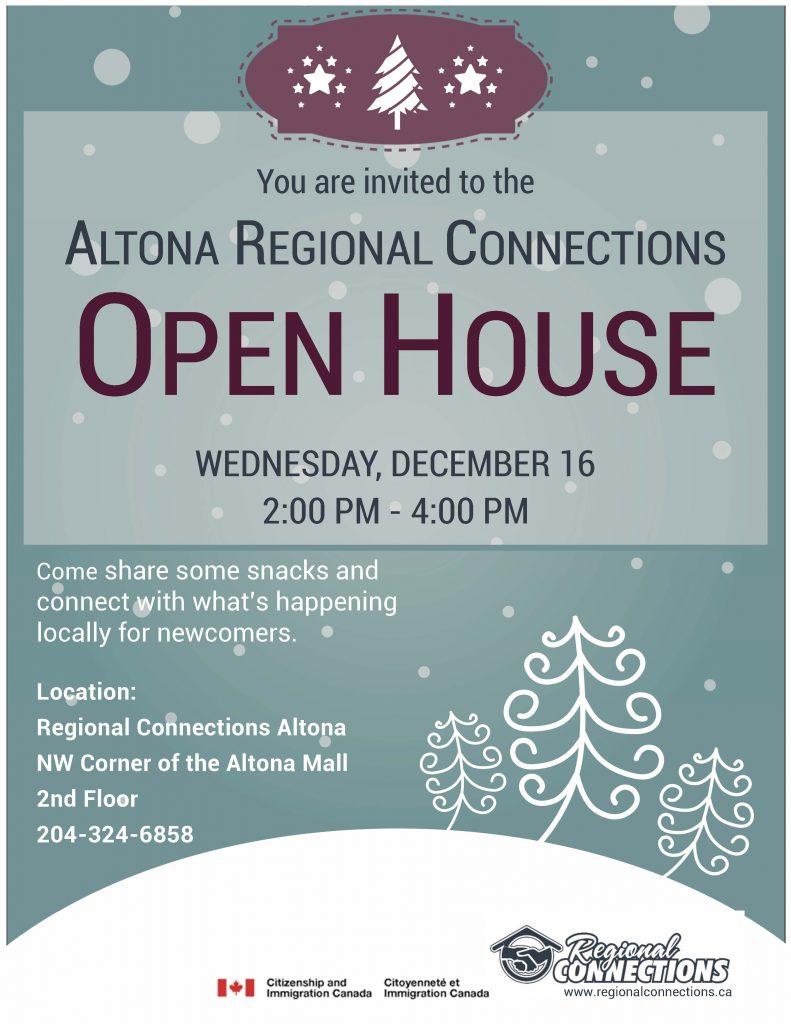 Altona Open House - Dec. 2015