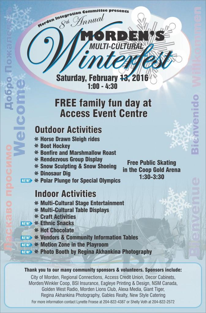Winterfest 2016 Poster