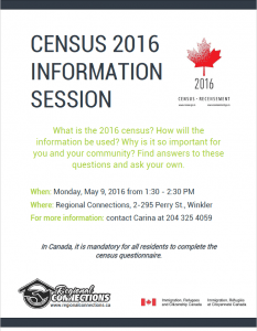 Census 2016 Information Session