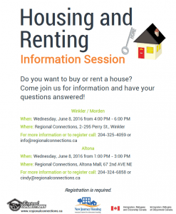 House and Renting Information Session 2016