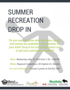 Summer Recreation Drop In Morden 2016