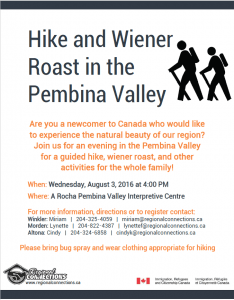 Hike and Weiner Roast in the PV 2016