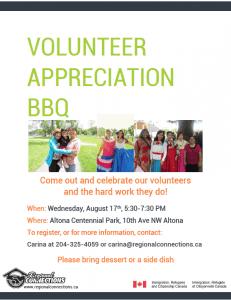 Volunteer Appreciation BBQ Altona