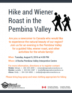 Hike and Wiener Roast in the PV 2016 nd